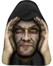 Lurking Peeping Thug Robber Zombie Halloween Window Prop Poster Decoration