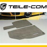 NEU+OR. Porsche 911 991 718 Boxster/Cayman 981/982 Fußmatten Achatgrau/Floor mat