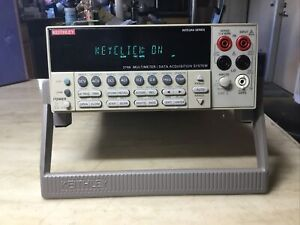 Keithley 2700 6-1/2 Digital Multimeter/Data Acquisition System W/77