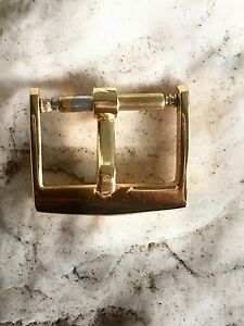 VINTAGE BUCKLE IN YELLOW GOLD FOR PATEK PHILIPPE 16mm.
