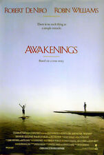 AWAKENINGS 1990 Robert De Niro, Robin Williams US 1-SHEET POSTER