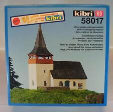 Kibri H0 Nr. 58017 Bausatz Kit Dorfkirche St.Christophorus OVP #1469