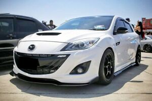 Fits Mazda 3 BL Hatchback MPS Sp25 Neo  - Weathershields Side Window Visors 4pcs