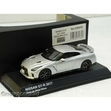 NISSAN GT-R R35 2017 UNTIMATE METAL SILVER KYOSHO MODEL 1/43 #03893S