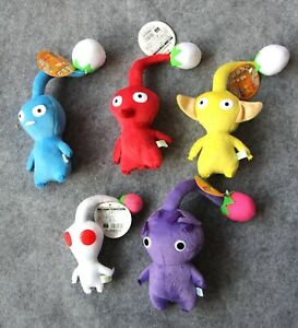 Pikmin Game FLOWER LEAF BUD Plush Doll BEST COLLECTION Christmas Gift