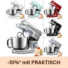 Küchenmaschine Knetmaschine Rührmaschine 5,5 L Rührschüssel 1500W Teigmaschine