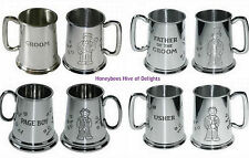 Pewter Ale/Bitter Collectable Beer Tankards