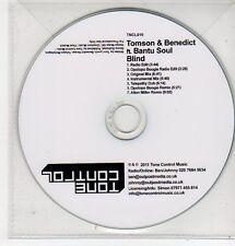 (FF596) Tomson & Benedict ft Bantu Soul, Blind - 2011 DJ CD