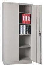 Büroschrank Aktenschrank Werkzeugschrank Metallschrank Universalschrank 2-türig