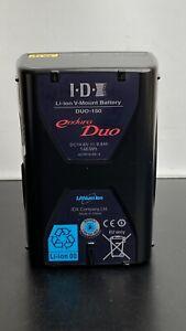 NEW - IDX Endura DUO-150 V Mount Lithium-Ion Battery