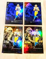 Justin Herbert Rookie 4 Card Lot Illusions 2 Blue 2 Base Chargers Rc 2020