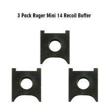 3PCS Ruger Mini 14 Recoil Buffer 3 Pack BLACK
