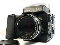 [Lens N-Mint] Mamiya M645 Super + Lens Sekor C 80mm f2.8 + AE Finder Winder Grip