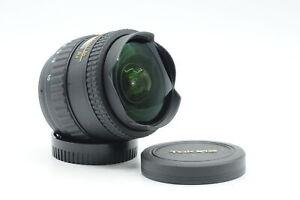 Tokina AF 10-17mm f3.5-4.5 AT-X DX Fisheye Lens Nikon F #228