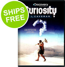 Curiosity, I Caveman (DVD, 2012) NEW, Sealed, Discovery Channel