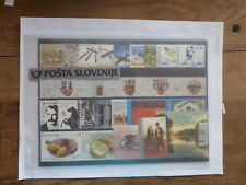 SLOVENIA 2014 COMPLETE STAMP YEAR PACK