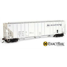 HO Scale EXACTRAIL Evolution Series EE-1714-6 ARMSTRONG USLX Evans Grain Hopper
