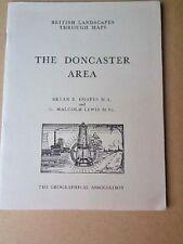 '' BRITISH LANDSCAPES THROUGH MAPS '' THE DONCASTER AREA , 1966