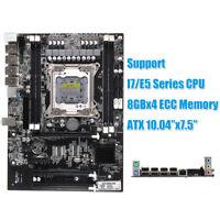 ATX Motherboard for Intel X79 LGA2011 1866/1600/1333 ATX 4xDDR3/ ECC SATA3.0