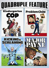Family Comedy Pack Quadruple Feature Kindergarten Cop / Problem Child / Kicking