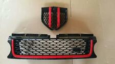 2012 Range Rover Sport Autobiography Grille Grill Side Vents Style Black Red (B)
