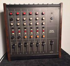 Vintage Teac Modelo 2A Mezclador De Audio Para Teac 3440