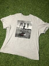 NIKE TShirt 3XL for Men Sports Wear gray, Graphic crewneck XXXL