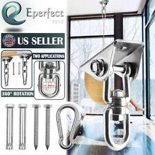 360° Hammock Hook Swing Chair Ultimate Hanging Kit Stainless Hanging Steel 450Kg