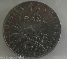 50 centimes semeuse 1976 : SUP : pièce de monnaie française
