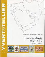 Catalogue des Timbres d'Asie Moyen-Orient de Aden à Yémen Yvert et Tellier 2015