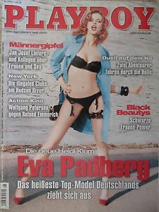 Magazin Playboy sexy Eva Padberg 05/2004