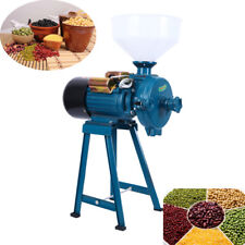 Electric Feed Mill Wet Dry Cereals Grinder Corn Grain Rice Coffee Wheat Grinding