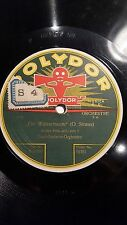 GERMAN 78 rpm RECORD Polydor PAUL GODWIN Orquesta EIN WALZERTRAUM Strauss