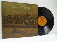 NEIL YOUNG time fades away (with lyric poster) LP EX/EX-, MS 2151, vinyl, album,