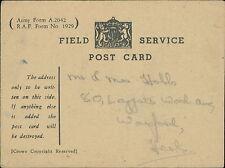 Mr & Mrs Hobbs.  Leggatts Wood Ave, Watford  1945 - Soldier  JC.556