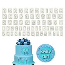 Alphabet Letter Plastic Cake Fondant Cookie Cutter DIY Decor Birthday Mold