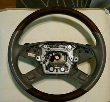 W212 wood steering wheel. E350 E550 sedan Mercedes Benz