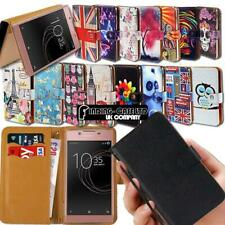 For Sony Xperia T2/T3 SmartPhones Leather Smart Stand Wallet Case Cover