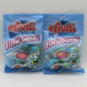 Lot of 2 Bags efrutti PLANET GUMMI 8 Total! As Seen On Tik Tok 8 Planet Gummies