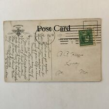 H.W. Buckbee Rockford Seed Farms Illinois Posted Postcard