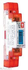 33103360 PRO1-2T Contatore digitale 2-Tariffe singola fase certificato MID