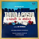 Rare OG 1974 Italy Beat Records Soundtrack OST LP - Piero Piccioni Tutto A Posto