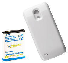 Long Life 4800mAh Extended Battery + Cover for Samsung Galaxy S4 Mini, XpWhite