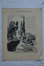 Dîner du Bon-Bock - Soirée lecture - Ensemble de 10 programmes - 1895 à 1920