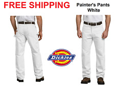 Dickies PANTS relaxed fit Utility Painter pants White Natural Paint 30 to 44