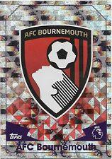 2016 / 2017 EPL Match Attax Base Card (1) AFC BOURNEMOUTH Logo Card