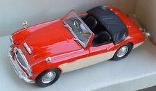 Austin-Healey Die cast metal model - By Schuco in 1:43 scale red over cream