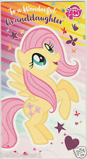 "NEW MY LITTLE PONY ""GRANDDAUGHTER"" BIRTHDAY CARD**FREE 1ST CLASS P&P**"