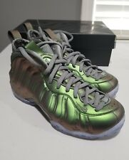 Nike Women's Air Foamposite One Dark Stucco Iridescent Shine Pro size 9 mens 7.5