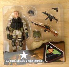 ULTIMATE SOLDIER 1/18 ELITE FORCE BBI UNIMAX OPEN CARD SFC KEVIN BURNSIDE